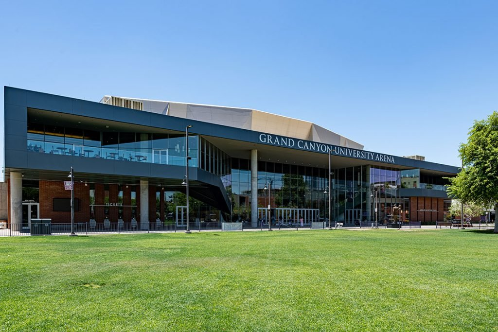 Outside view of GCU Arena
