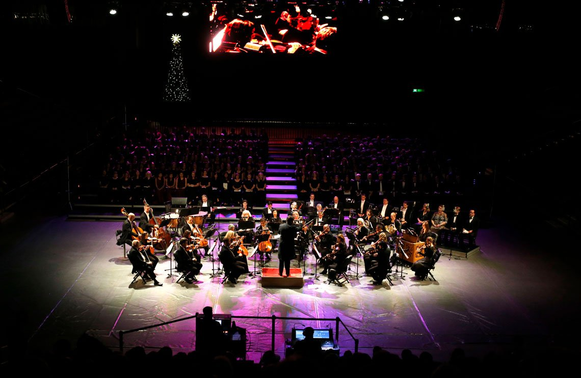 Orchestra performance at GCU Arena