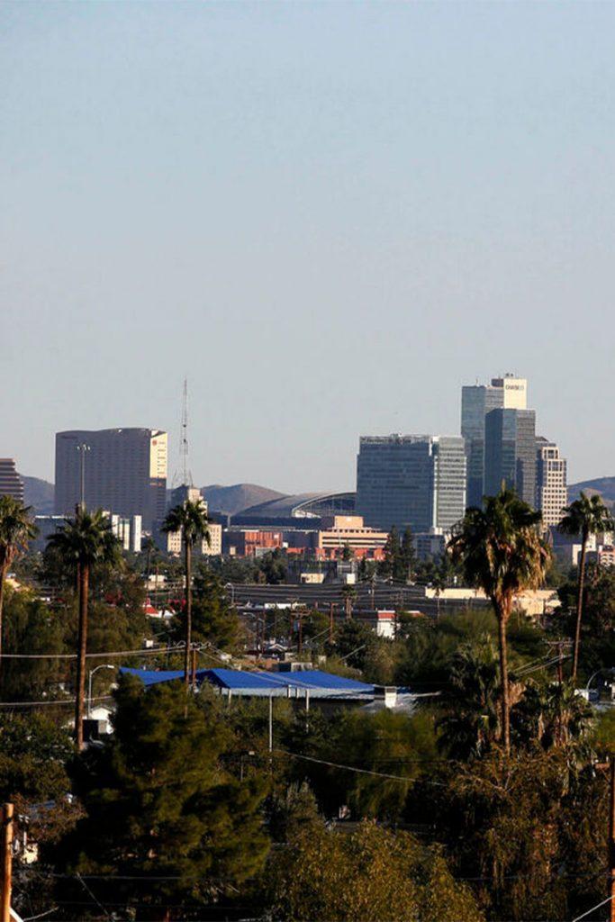 View of Phoenix skyline